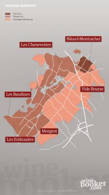 Weinlagen von Chassagne-Montrachet