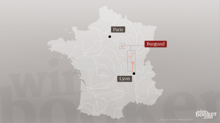 Geographische Detailkarte Jacques Prieur Frankreich