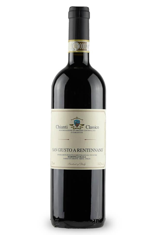 Chianti Classico von San Giusto a Rentenanno aus der Toskana online kaufen