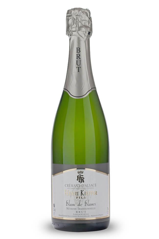 Crémant d'Alsace Brut von Henri Kieffer aus dem Elsass online kaufen