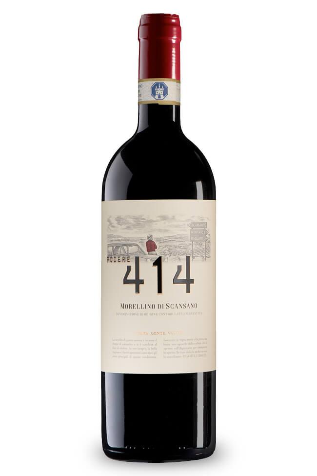 Morellino di Scansano von Podere 414 aus der Toskana online kaufen