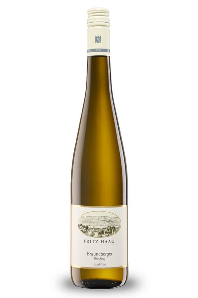 Riesling Brauneberger Tradition feinherb von Weingut Fritz Haag von der Mosel online kaufen
