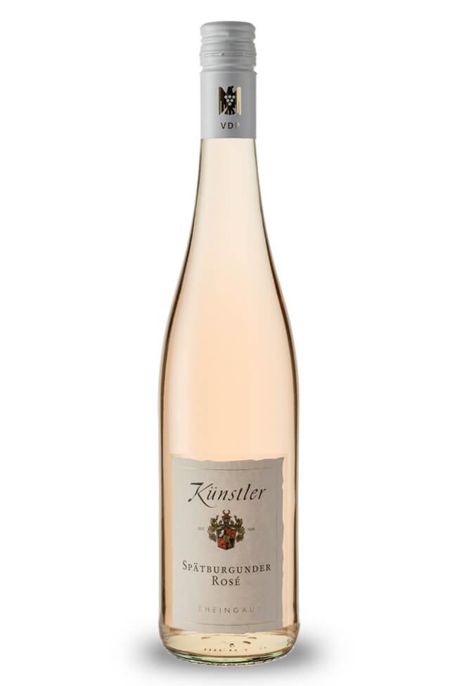 Spätburgunder Rosé feinherb von Weingut Künstler aus dem Rheingau online kaufen