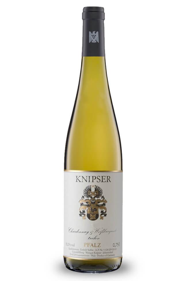 Chardonnay und Weissburgunder von Weingut Knipser aus der Pfalz online kaufen
